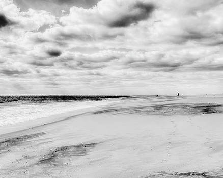 Cloudy Day at Cape May by Emily Kay