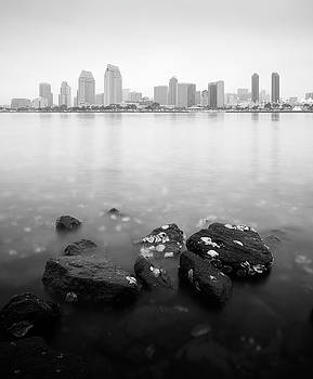 Cloudy Downtown San Diego by William Dunigan
