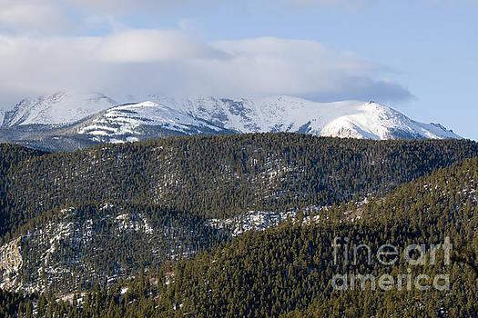 Steve Krull - Cloudy Mantel on Pikes Peak Colorado