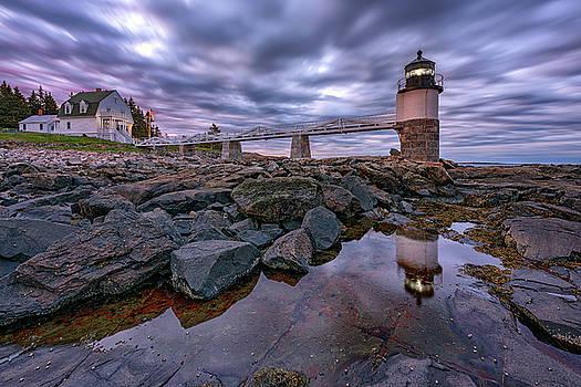 Cloudy Morning at Marshall Point by Rick Berk