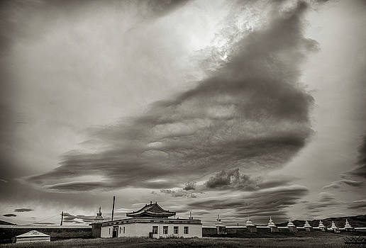 Cloudy sky, Karakorum, 2016 by Hitendra SINKAR