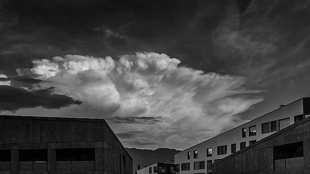 Cloudy Sky Over Bolzano by Emiliano Giardini