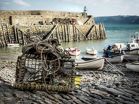 Clovelly Crab Trap by Nick Bywater