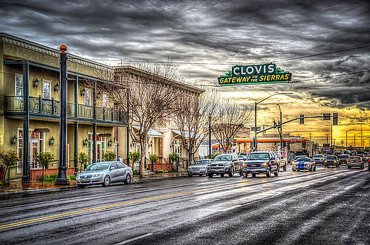 Clovis California by Spencer McDonald