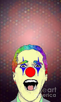 clown Christian Bale by Jason Tricktop Matthews