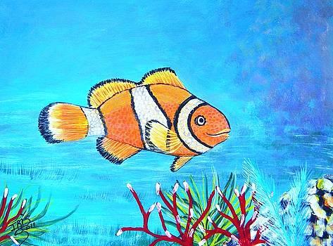 Clown Fish by Iris  Mora