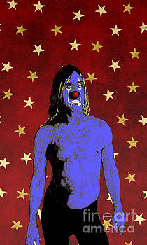 Clown Iggy Pop by Jason Tricktop Matthews