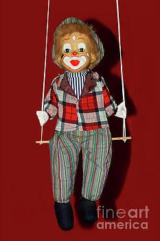 Clown on Swing by Kaye Menner by Kaye Menner