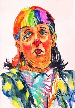 Clown Series Oh No  by Betty M M Wong