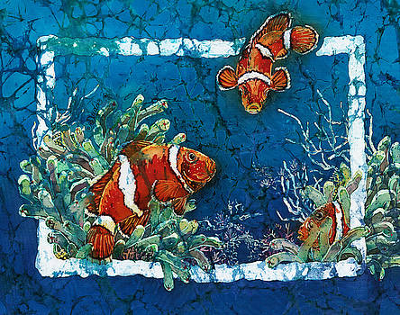 Sue Duda - Clowning Around - Clownfish