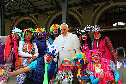 James Brunker - Clowning Around with Pope Francis