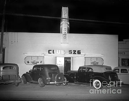 Club 526  Henry Franci, Salinas 1941 by California Views Mr Pat Hathaway Archives