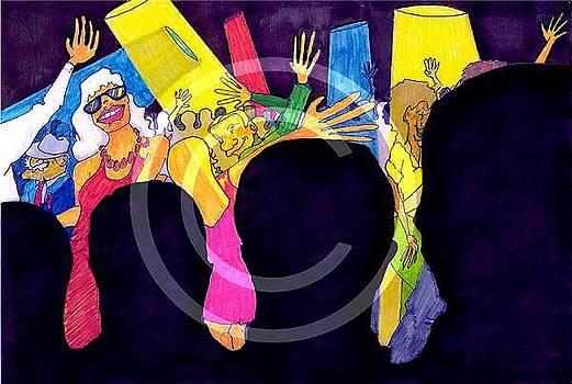 Club Scene  by Ozy Kroll