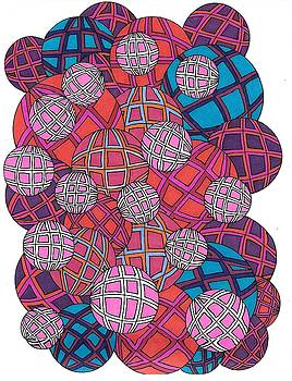 Cluster of Spheres by Roberta Dunn