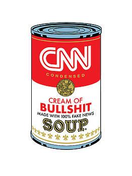 CNN Soup Can by Gary Grayson