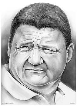 Coach Orgeron by Greg Joens