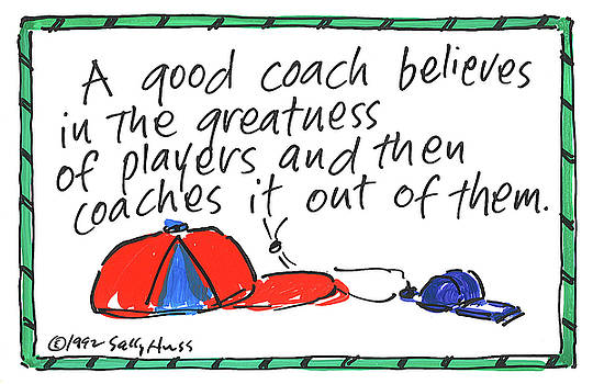 Coach by Sally Huss