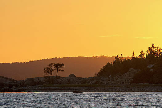 Coast at Dusk Nova Scotia Eastern Shore by Scott Leslie