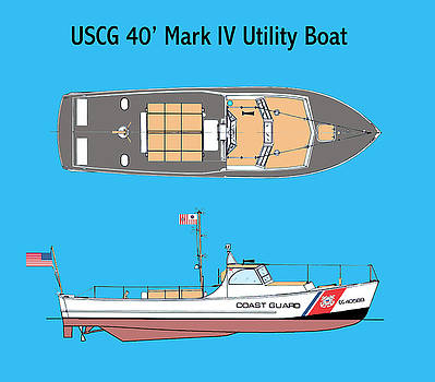 Jerry McElroy - Coast Guard 40 Foot Utility Boat