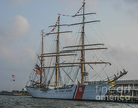 Dale Powell - Coast Guard Barque Eagle
