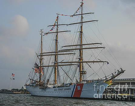 Dale Powell - Coast Guard Barque Eagle