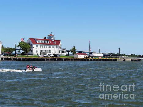 Coast Guard Station Atlantic City by Louise Heusinkveld