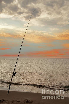 Coast Night Fishing by Aleksey Tugolukov