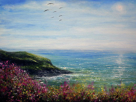 Coast of Cornwall by Ann Marie Bone