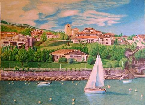 coast of Italy by Oleg Kozelskiy