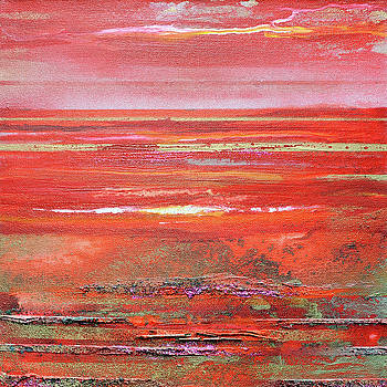 Coast Series Red and Gold by Mike   Bell