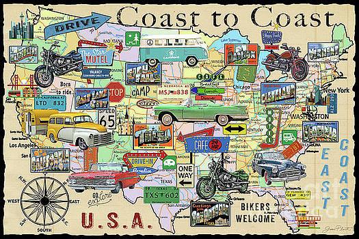 Coast To Coast-O by Jean Plout