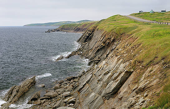 Reimar Gaertner - Coastal Cabot Trail road on the Gulf of St Lawrence Cape Breton