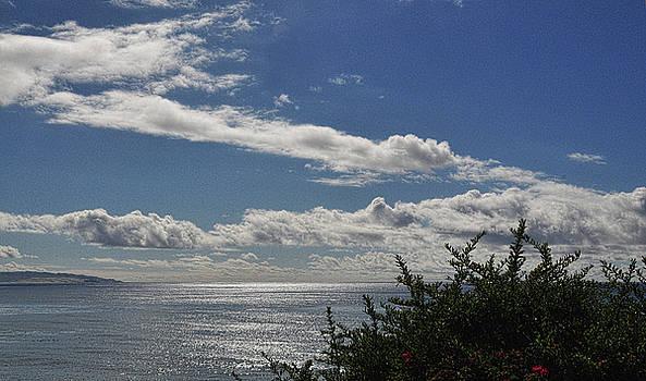 Coastal Cloud Art by Lorrie Morrison