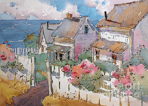 Coastal Cottages by Joyce Hicks
