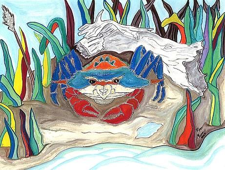 Coastal Crab by Ryan D Merrill