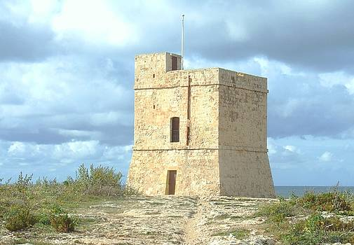 Coastal Defense Tower by Bill Vernon