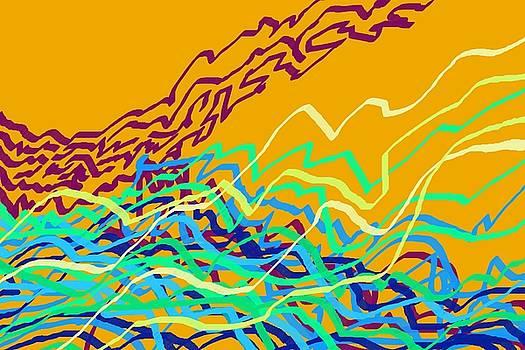 Coastal Frequencies 1 by Julia Woodman