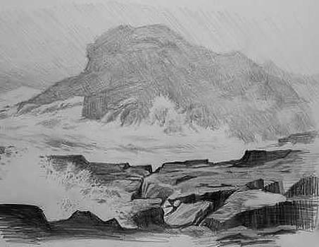Coastal Landscape  by William Hay