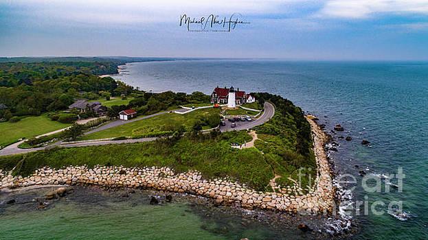 Coastal Nobska Point Lighthouse by Michael Hughes
