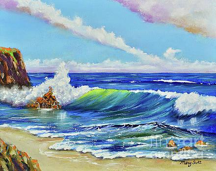Ocean Blue by Mary Scott