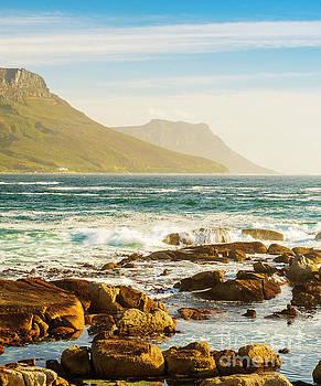 Tim Hester - Coastal Rocks and Mountains