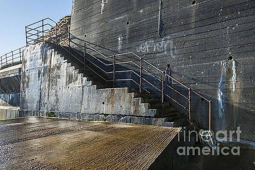 Coastal stairway. by John Cox