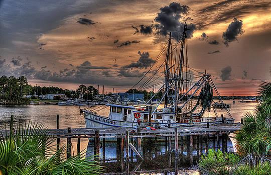 Coastal Sunset by Alex Owen