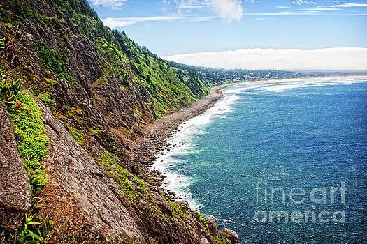 Coastal View Toward Manzanita by Lincoln Rogers