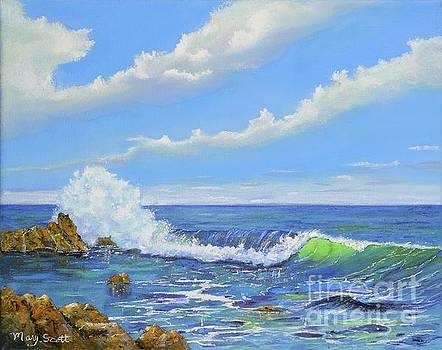 Coastline Wave by Mary Scott