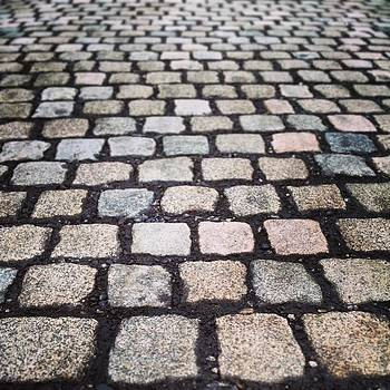Cobbled Roads From Times Gone By by Jennie Davies