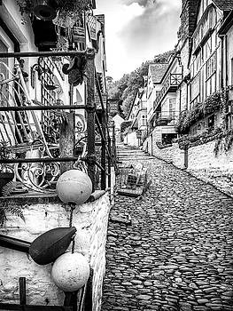 Cobbled Streets of Clovelly by Nick Bywater