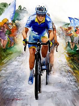 Cobblestones Le Tour de France by Shirley Peters