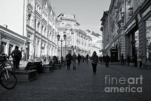 Cobblestones street by Magomed Magomedagaev