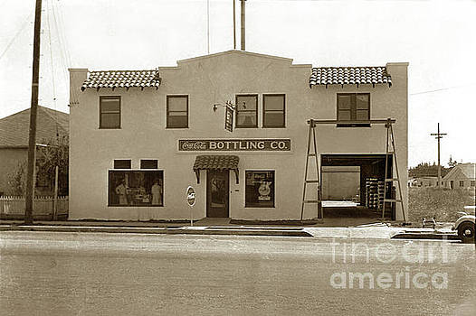 California Views Mr Pat Hathaway Archives - Coca-Cola Bottling Co. 251 W. Market, Salinas Circa 1955